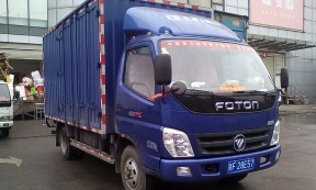 【赣F28E57】上海闵行区4米2箱车承接周边短驳货运业务