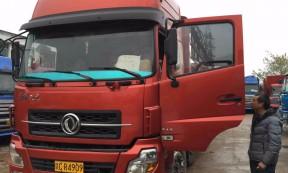 【赣CR4909】长沙市前四后八9.6米高栏车承接长沙至湖南省内货运